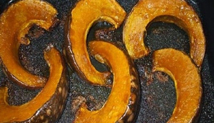 Sweeter Life Club shares a recipe for Balsamic Baked Pumpkin with Pine Nuts.