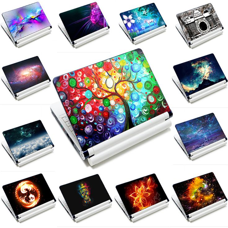 "15""15.4""15.6"" Inch New PVC Prints Laptop Decal Sticker"