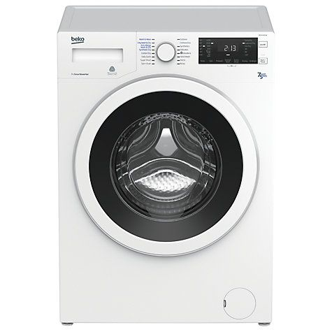 Buy Beko WDJ7523023W Freestanding Washer Dryer, 7kg Wash/5kg Dry Load, B Energy Rating, White Online at johnlewis.com