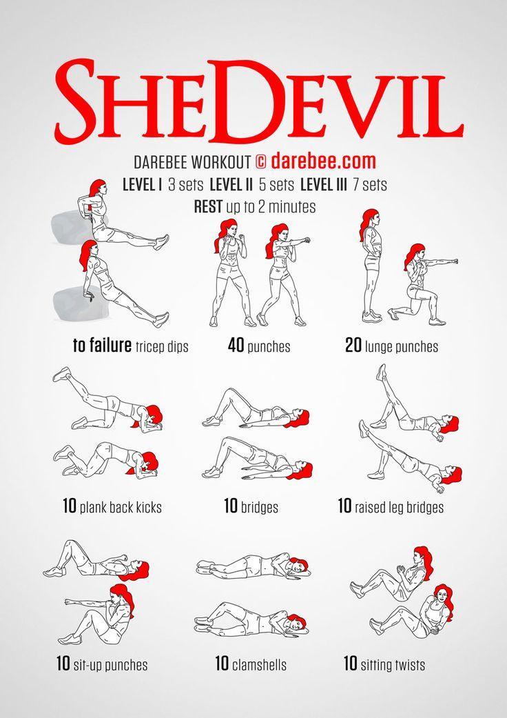 SheDevil Workout