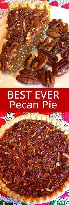 Best ever pecan pie.
