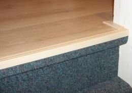 Laminaat overgang trap vloer gang en trap home decor bed en