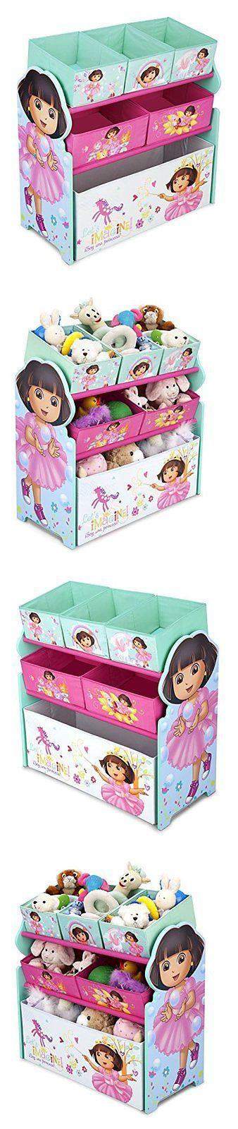 Dora the Explorer 44039: Multi Bin Toy Organizer, Nick Jr. Dora The Explorer -> BUY IT NOW ONLY: $32.99 on eBay!