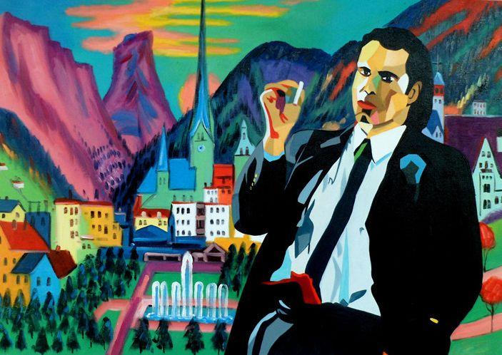 John Travolta Pulp Fiction x Kirchner's Davos