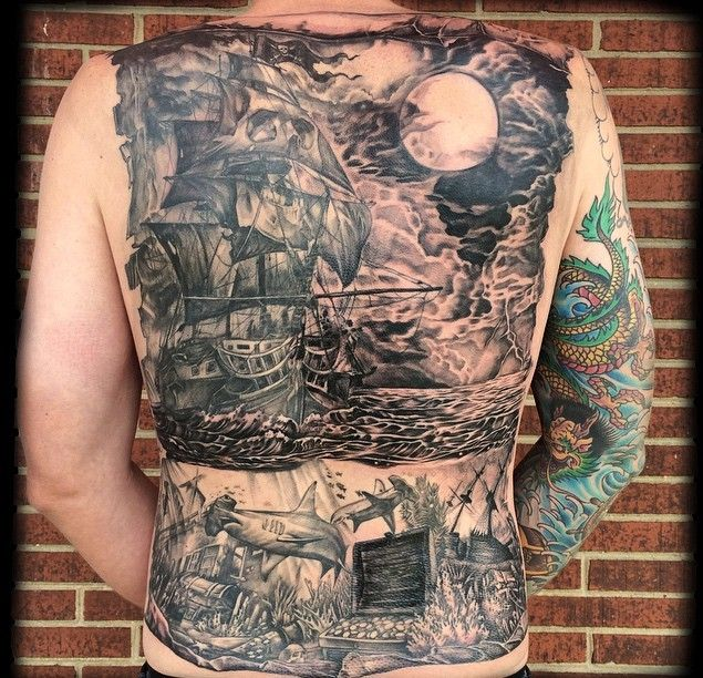1000 ideas about pirate ship tattoos on pinterest for Pirate tattoo meaning