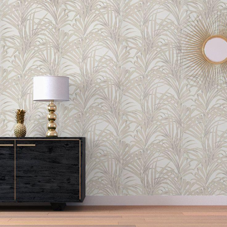 48 best Palmes et tropiques images on Pinterest Texture - peindre sur papier vinyl