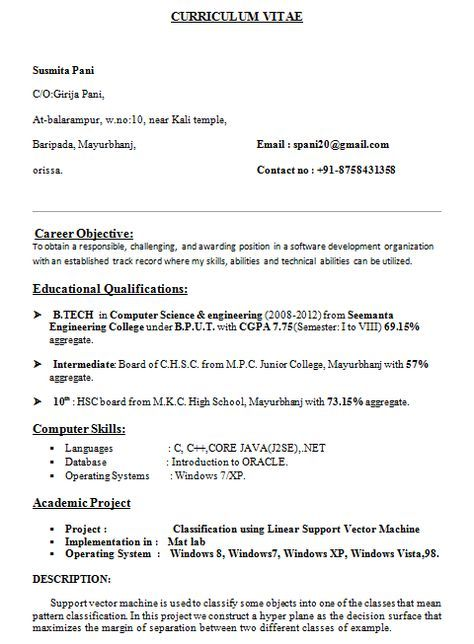 The  Best Student Resume Ideas On   Resume Tips Job