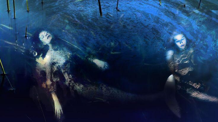 """""""Sirenas Dormidas"""" - (1221 x 687 px) - Luis Pulo - Junio 25, 2012 - Fotomontaje - Licencia Creative Commons"""