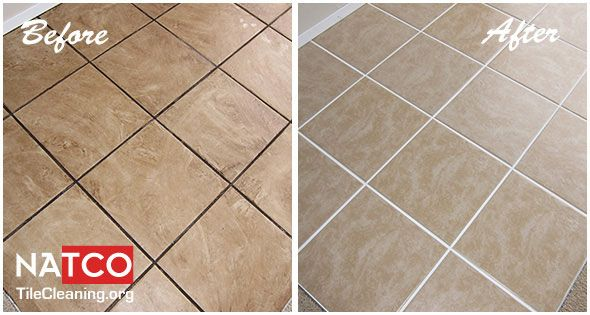 how to clean ceramic tile floor and grout