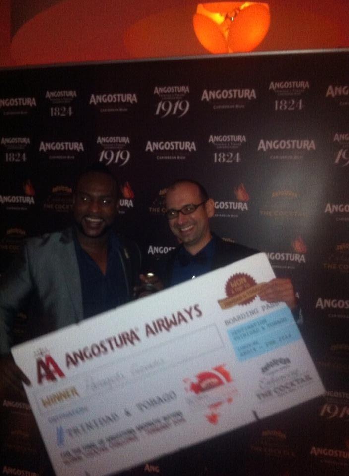 Ο Παναγιώτης Γιοβάνης κέρδισε τον Ευρωπαικό διαγωνισμό Angostoura