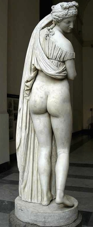 Aphrodite Kallipygos, artist unknown, 1st c BC, National Archaeological Museum, Naples