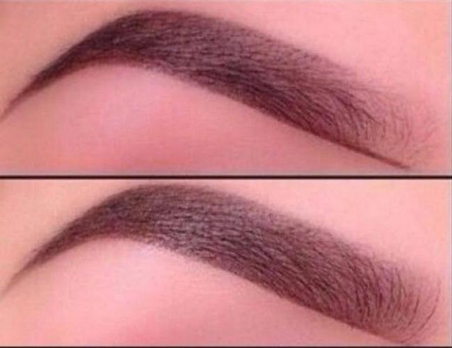 cool Как правильно красить брови карандашом и тенями - Полный обзор