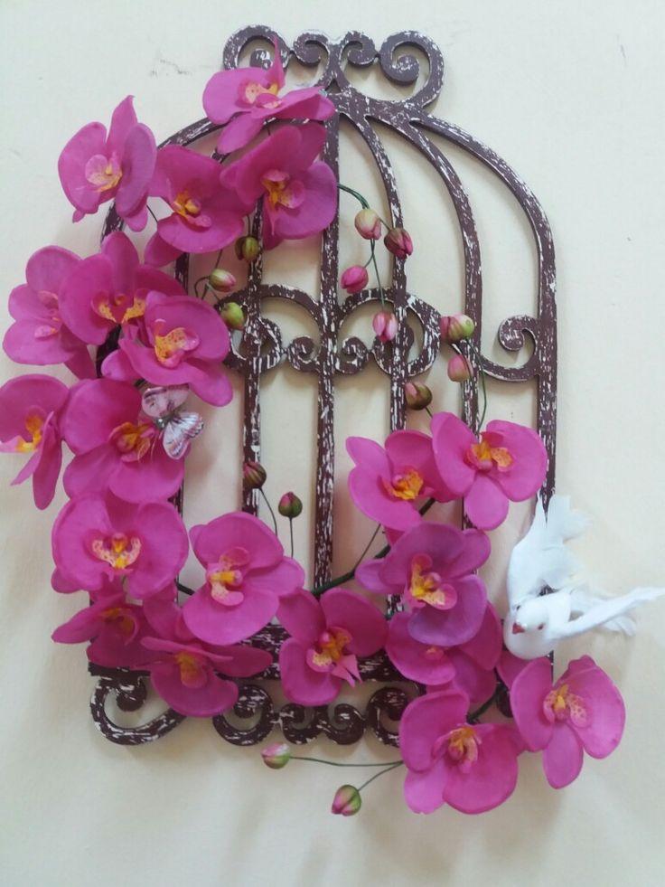 Ceramic flower, Seramik, Seramik çiçek, orkide, orcide
