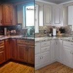 Excellent painting old kitchen cabinets before and after 2015