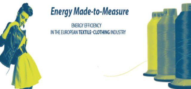 Al via ENERGIA-SU-MISURA, la campagna d'informazione sul risparmio energetico per le pmi del settore tessile e abbigliamento