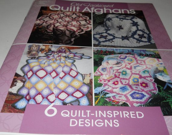 Old Fashioned Quilt Afghans Crochet Pattern By Annies