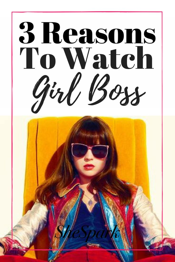 "3 Reasons to binge watch Girl Boss, the new show on Netflix.  Number 1, we can't get enough of the ""vintage"" 80's fashion!"