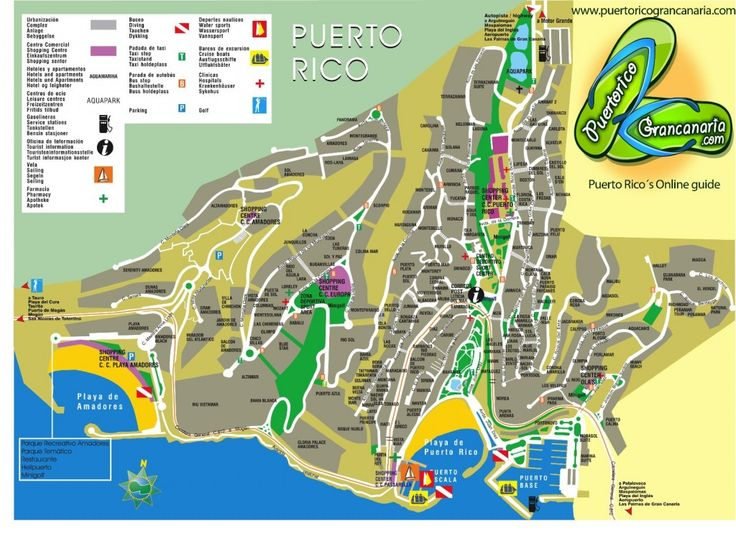 Really useful map of Puerto Rico in #GranCanaria http://www.puertoricograncanaria.com/puerto-rico-map.html