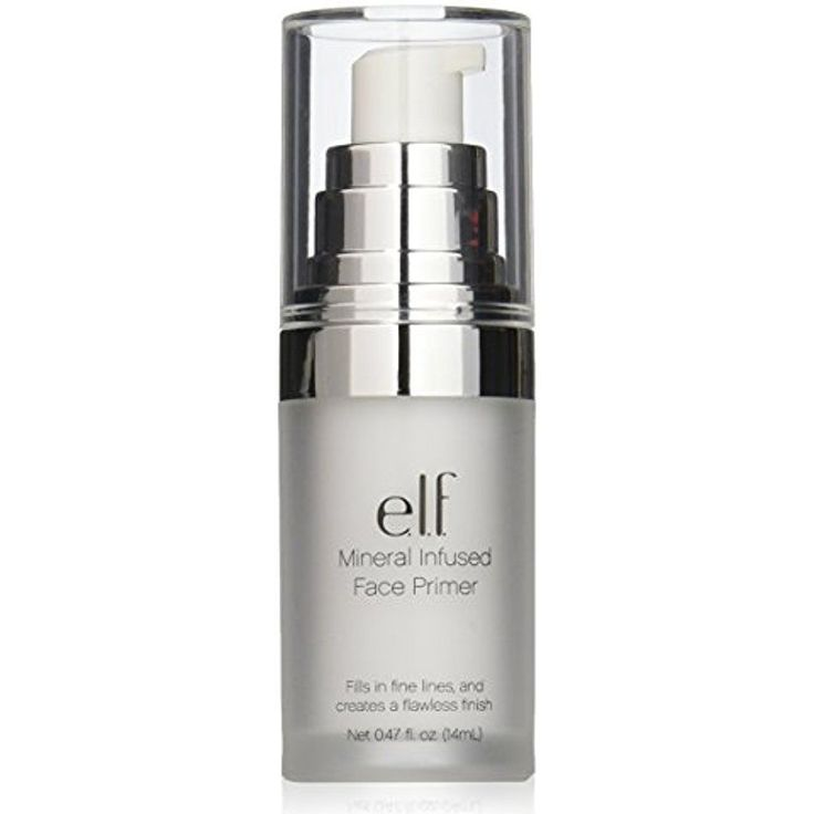 Elf Face Primer Mineral Infused Best Quality Flawless and Smooth Canvas 0.47 Oz #elfCosmetics