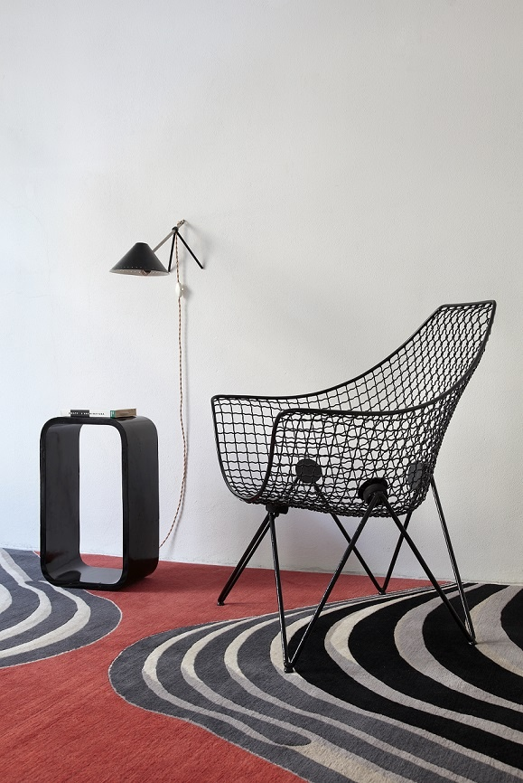 On sale @ Galleria Wabi | Armchair DU43 by Gastone Rinaldi for Rima 1953