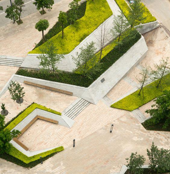 25 best ideas about landscape architecture model on