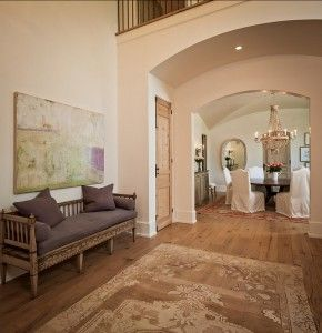 French Foyer. This is a very impressive French Foyer. #French #Foyer #Interiors