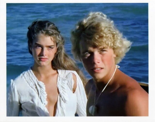 "Brooke Shields and Christopher Atkins in ""The Blue Lagoon,"" 1980."