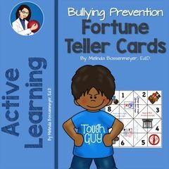 Bullying Fortune Teller Game! Enter for your chance to win 1 of 5. Anti-Bullying Fortune Teller Game  (5 pages) from Peaceful Playgrounds Shop on TeachersNotebook.com (Ends on on 10-22-2015) Enter to win a bullying prevention fortune teller hand game.  One of our most popular products for Bullying Prevention Month..