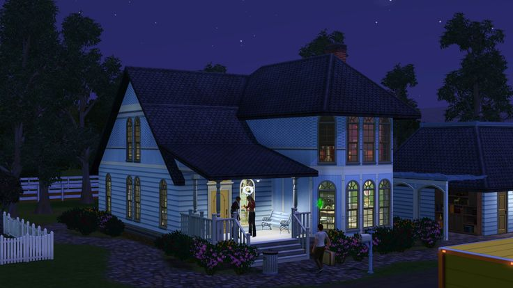 LizC864 Sims 3 science career game. This house is part of Appaloosa Plains.