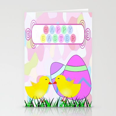Happy Easter Stationery Cards by Elena Indolfi - $12.00