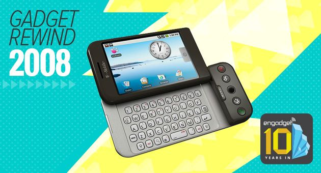 Gadget Rewind 2008: T-Mobile G1 (HTC Dream) - My First Android Phone