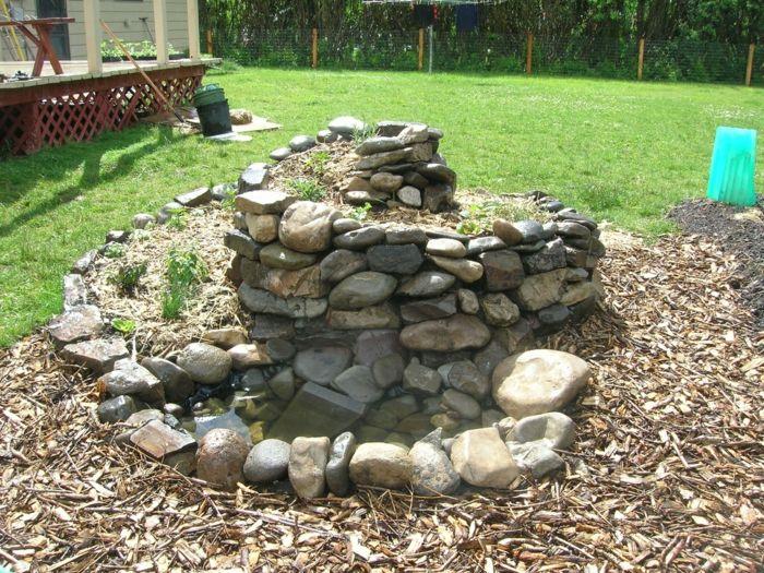 127 besten Gartengestaltung u2013 Garten und Landschaftsbau Bilder auf - garten brunnen stein ideen