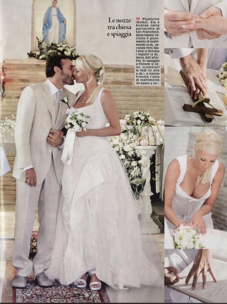 Red Carpet Wedding: Ela Weber and Andrea Bonacci ~ Red Carpet Wedding