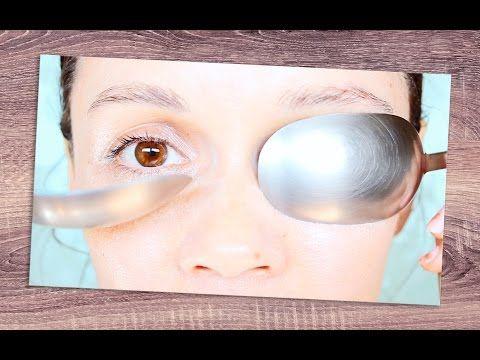 Piel más joven sin cirugía: Masaje facial con cucharas - YouTube