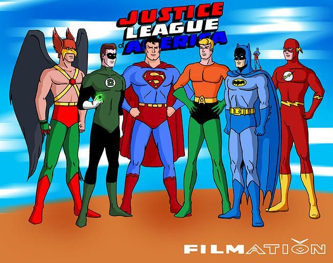 Cartoon Characters Justice League : Justice league of america pinterest