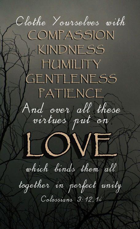 Colossians 3:12,14  |  www.instapray.com