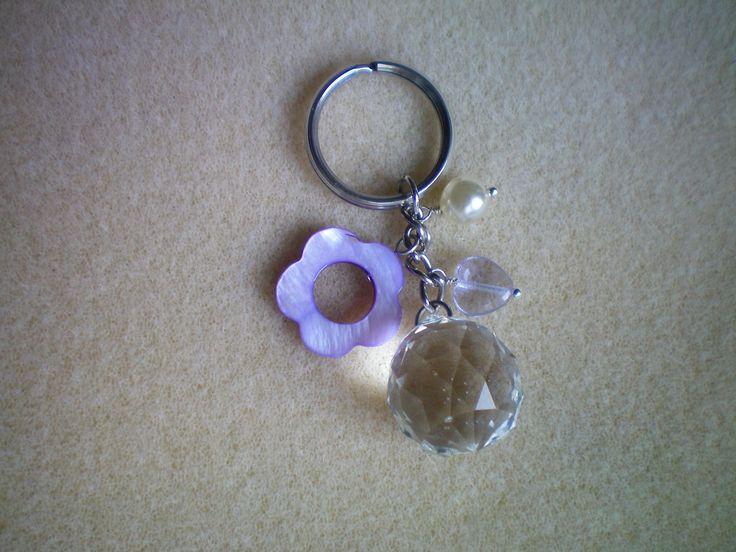 Accessorio per borse Goccia di cristallo e charms colorati : Altri accessori di le-perline-di-sara