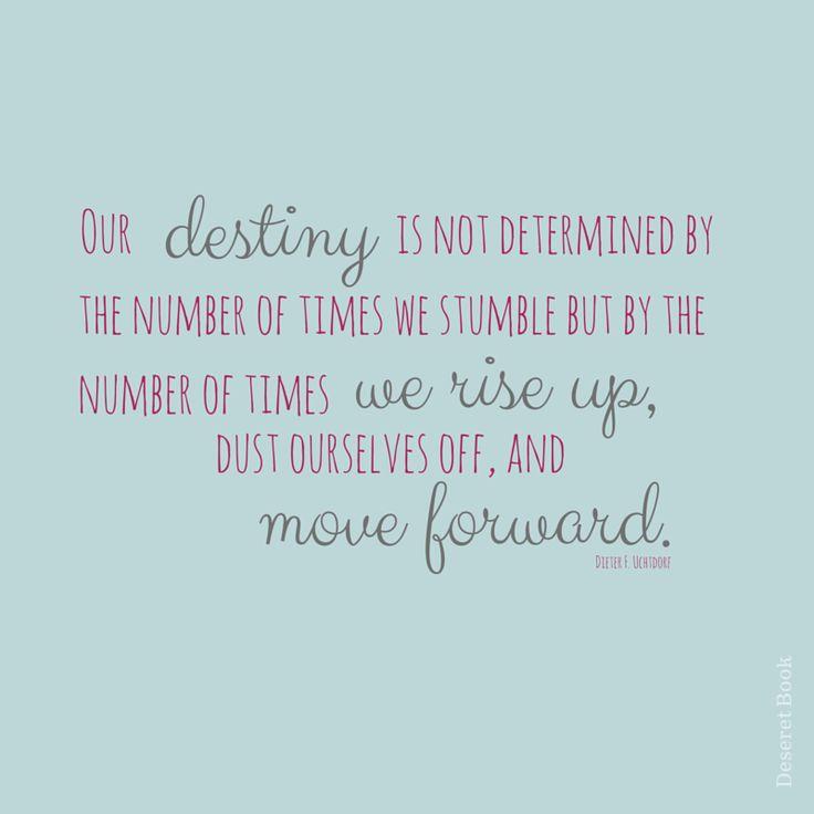 Our destiny. #sharegoodness #lds #deseretbook