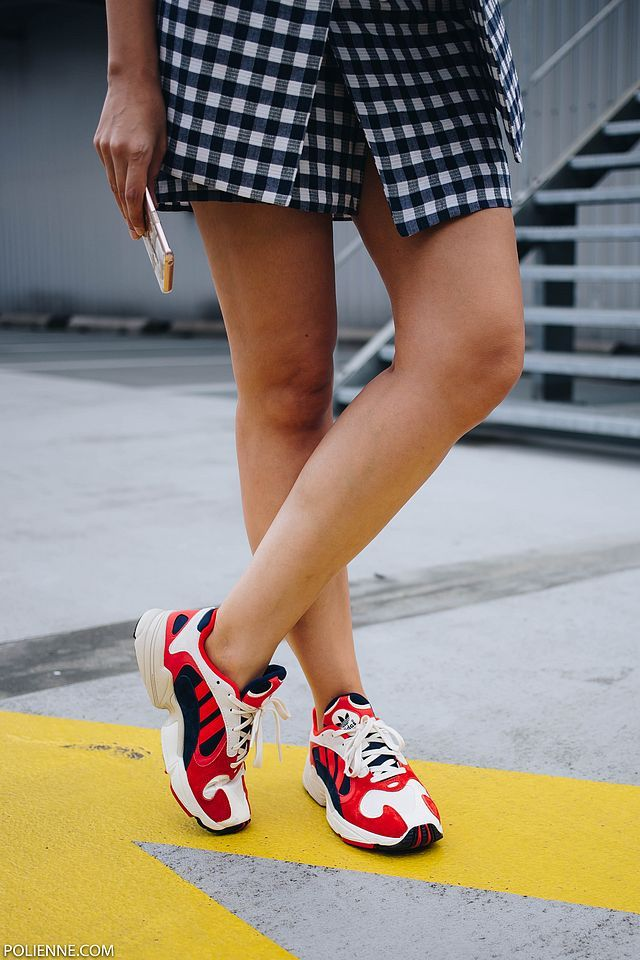 adidas yung 1 rouge femme