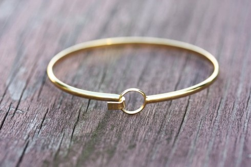 Gold Wire Bracelet: Hooks Wire, Circles Of Life, Jewelry Bracelets, Life Bracelets, Accessories, Circles Hooks, Wire Bracelets, Gold Wire, Gold Circles