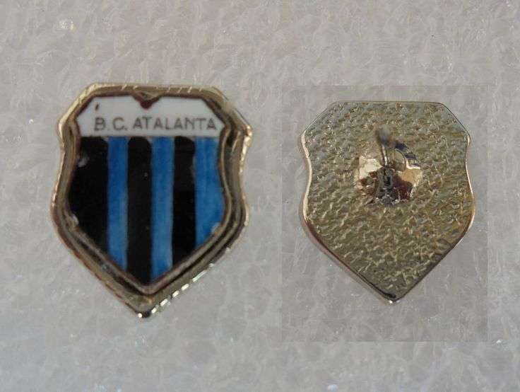 DISTINTIVO CALCIO ATALANTA BERGAMASCA SPILLA ANSTECKNADEL PIN BADGE