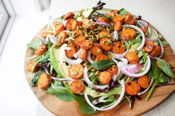 Simple. Fresh. Easy. That's how we do salads at JSHealth. I made this salad for a family dinner a few weeks ago and it was an absolute hit! Had to remake it for the blog. Pepitas are one of …
