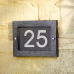House Number Plaque (A993) with Free Delivery | The Cotswold Company