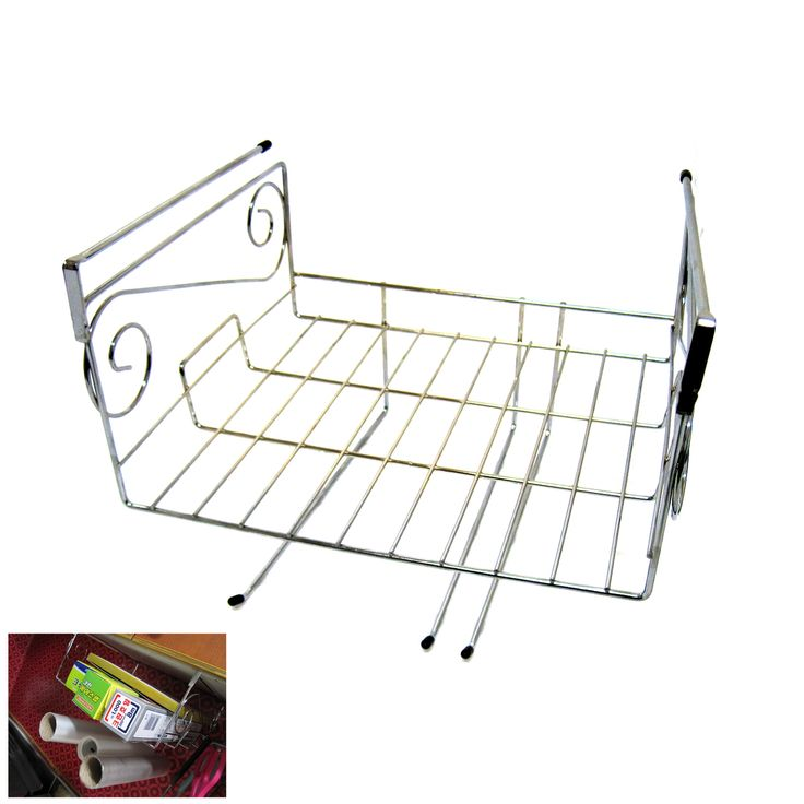 Uniqworld - Stainless Sink In Space Save Holder Rack For Paper Towel, $28.30 (http://www.uniqwd.com/stainless-sink-in-space-save-holder-rack-for-paper-towel/)