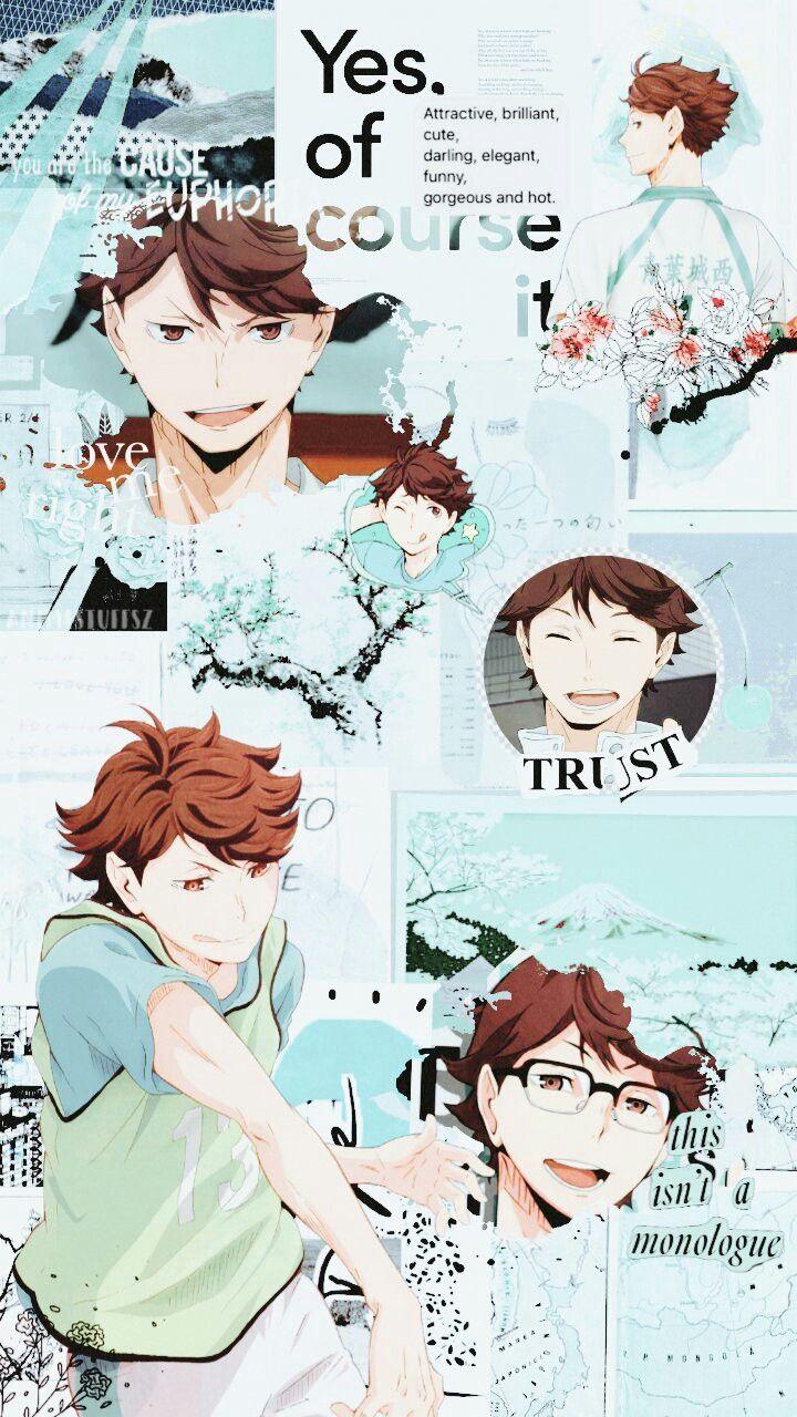 Oikawa Tooru Haikyuu Wallpaper Cute Anime Wallpaper Haikyuu Anime