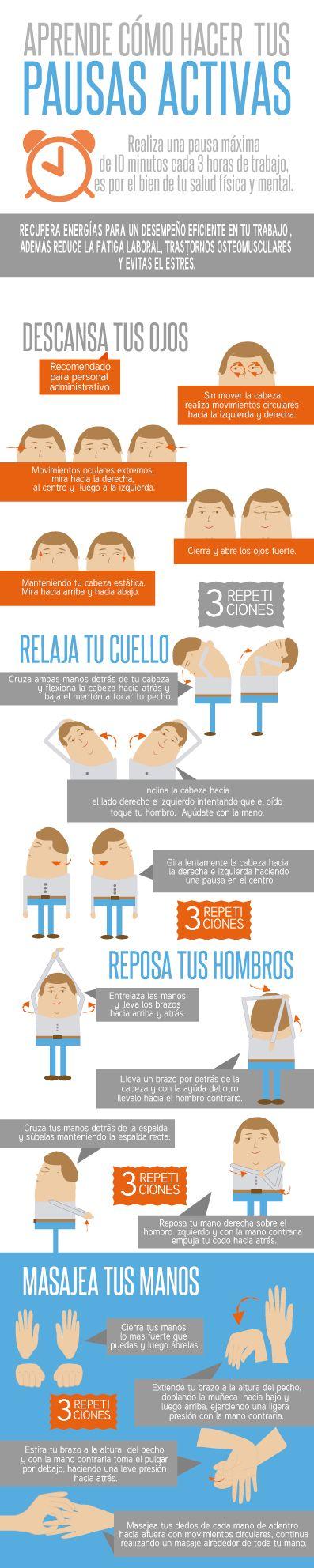 Infografía - Salud Ocupacional on Behance