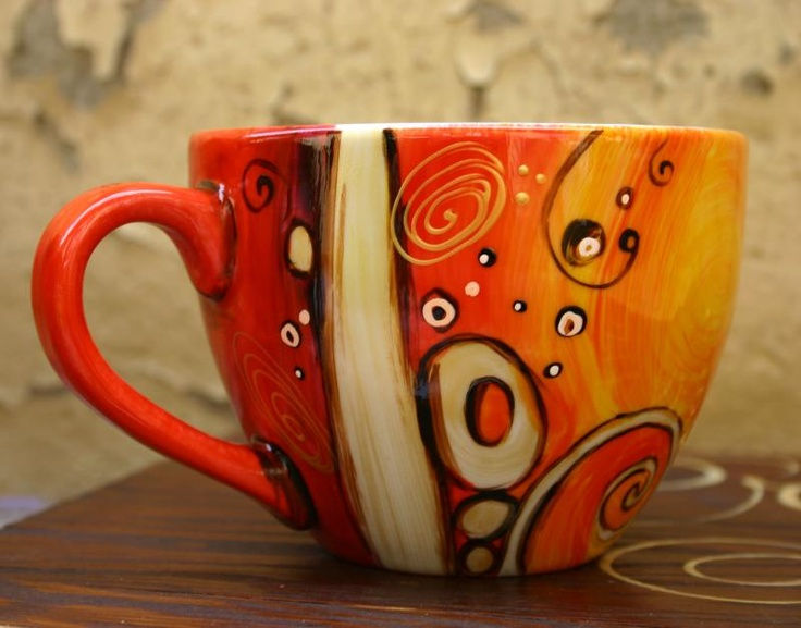 1000 images about paint your own mugs teapots and for How to paint a mug