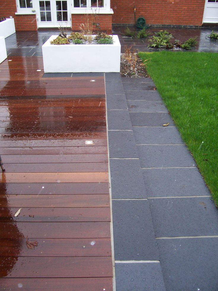 Garden Ideas Decking And Paving 15 best garden landscaping images on pinterest | landscaping