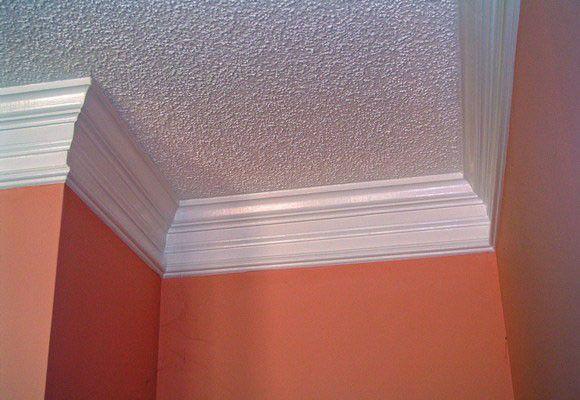 Mejores 12 im genes de moldura de yeso en pinterest - Molduras techo pared ...