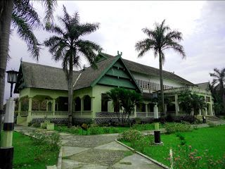 Asi Mbojo, the former royal palace / sultanate of Bima (now a museum). West Nusa Tenggara province